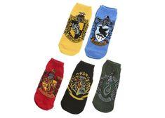 Harry Potter House Crest Ankle Socks – 5 Pair – (4 left)