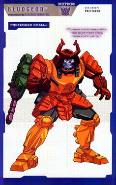 Transformer of the Day: Bludgeon (Part 1)
