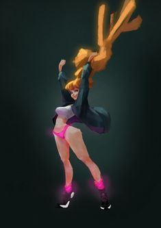ArtStation - Give me the power!!, Matthew Lin