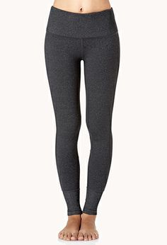 High-Waisted Workout Leggings | FOREVER21 - 2000128085
