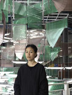 Haegue Yang @ Centre Pompidou, 2016 Photo Ph. Migeat