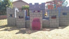 Princess Party! Complete with instructions on how to make an amazing cardboard castle!