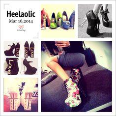 Crazy heel collections