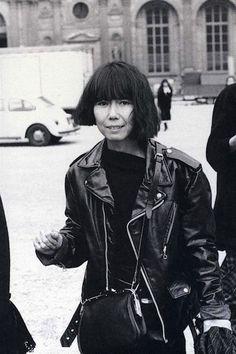 Fashion designer Rei Kawakubo