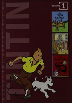 The Adventures of Tintin, Vol. 1 (Tintin in America / Cigars of the Pharaoh / The Blue Lotus): Hergé Best Travel Books, Best Books To Read, Good Books, Pop Up, Science Fiction, Read Aloud Revival, Kindle, Struggling Readers, Reluctant Readers