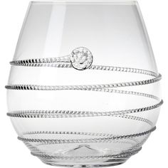 Juliska Stemless Red Wine glass. The dining party diva thinks every glass of wine should be special.