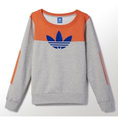 Adidas Elbow Patch Trefoil Crew Sweatshirt