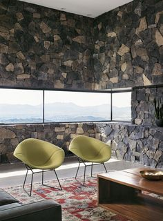 Franklin Mountain house - Hazelbaker Rush_living room