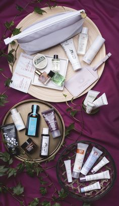 Say hello to our NEW travel beauty bag worth up to £260 and full of the latest beauty must-haves that'll make any trip away complete. Just head to our website to find out how to get your hands on one (for free!) 🌸🌼 #beautybag #travel #beauty #skin #hair #natural #bath #body #treatyourself