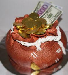 Денежный мешок #торт_на_заказ_харьков #шоколадный