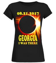 GEORGIA Total Solar Eclipse August 21 2017 T Shirt astrology shirt,cancer astrology shirt,leo astrology t shirt,astrology t shirt,astrology mens t shirt,