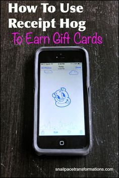 Receipt Hog is an app that pays you in gift cards for uploading receipts. It is so simple to use taking just seconds per receipt making it a great way to save money.
