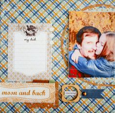 Layout from Sikirić Strong collection BE brads Calico woodveneers Studio Calico, Layout, Strong, Memories, Frame, Blog, Collection, Memoirs, Picture Frame