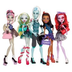 Monster High Dance Class 5 Pack WITH Gill