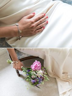 coral wedding nails bride http://www.vivaweddingphotography.com/