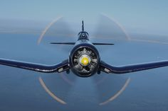 F4U Corsair. Not something you want to see in your rearview mirror
