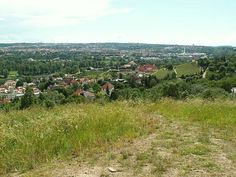 Havránka - the hills above our house, where we'd ski in the winter, and have little bonfires and picnics in the summer
