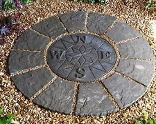Compass Rotunda - Paving Patio Pack Slabs - Stone - Spring Offer!