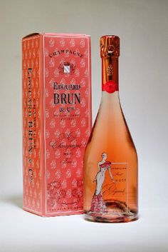 This is beautiful #champagne bottle and box #packaging don't you think? PD