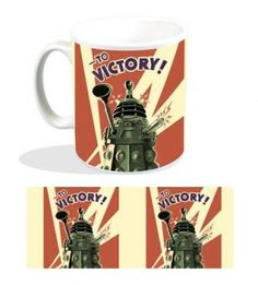 Taza Doctor Who. Dalek to Victory