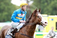 Scenic Blast with Steven Arnold up at Ascot racecourse, England, GB, 06.16.2009