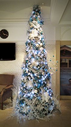 Office Christmas Trees  Ribbon christmas decorations masked ball