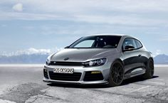 Volkswagen Sirocco R with BBS CH stance low photshop