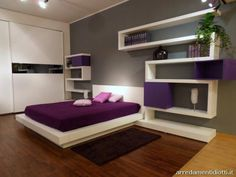 Here Is Modern Purple Bedroom Design Ideas Photo Collections At Gallery More And Decorations For