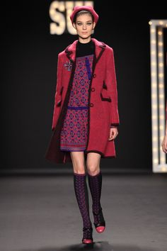 ANNA SUI FALL 2013  LOOK 36