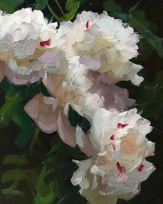 "A wonderful workshop today with The Ogunquit School of Art. Here's the demo from this morning's session, ""Paeonia on an Overcast Day,"" oil on linen, 16"" x 12"" #peony #peonyporn #dennisperrin #dennisperrinfineart #theperrinmethod"