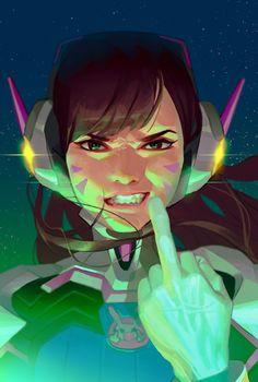 kim Rukiana - overwatch women 2