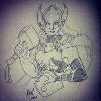 Thor by danilocassonato