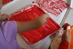 Q-tip painting prints
