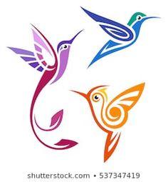 Stock Photo and Image Portfolio by Bird Stencil, Stencil Art, Folk Art Flowers, Flower Art, Hummingbird Art, Rock Painting Designs, Quilling Designs, Bird Drawings, Diy Canvas