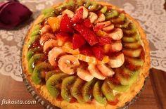 Meyveli Tart Tarifi ile Mutfaklarınız Şenlensin