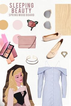 5 Disney Mood Boards to Inspire Your Spring Style