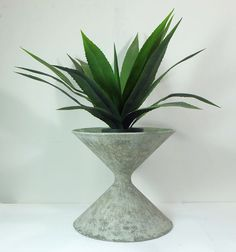 willy guhl 1950's sculptural mid century spindle PLANTER true vintage patina