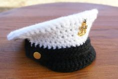 Crochet Military Inspired Hat – FREE!! | KatiDCreations
