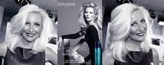 Florence Jacquinot (www.secretsofstyle.com) My TV hair styling beauty secret : Kerastase #CoutureStyling in green like Kate Moss Me Tv, Kate Moss, Beauty Secrets, Florence, Couture, Hair Styles, Green, People, My Hair