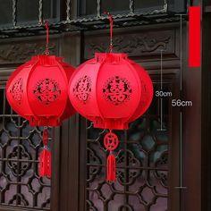 1c30d8bf8 Chinese Wedding Traditional Red Lantern (Set of 2) 'Double-Happiness', Felt  lantern, Wedding decor, Chinese Tea Ceremony