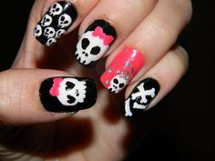 Skull nail art looks quite funky and most young gals swear by this cool nail trend that has been in fashion for many years and am sure the...