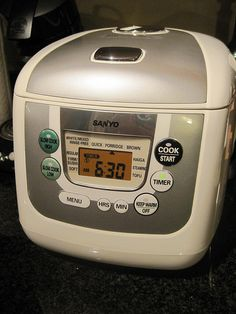 Sanyo Rice Cooker by aMichiganMom, via Flickr