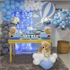 Being a baby shower hostess doesn't have to be stressful! Relax, put your feet up, and get ready to host the cutest baby shower party ever! Idee Baby Shower, Cute Baby Shower Ideas, Baby Shower Decorations For Boys, Boy Baby Shower Themes, Baby Shower Balloons, Baby Shower Gender Reveal, Baby Shower Centerpieces, Baby Boy Shower, Baby Shower Parties