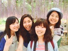 認識新朋友 去了一趟足利花卉公園 超開心的黃金周唷 好捨不得那麼長的假期結束哦 楽しい楽しいGWの思い出 by mai0521ma