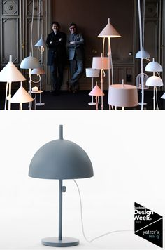 The W132 lamp system by Nendo for Wästberg