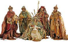 ". ... Accents Decorations » Mark Roberts Florentine Nativity - 17-19"" S/5"