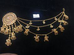 I want this order India Jewelry, Temple Jewellery, Bridal Jewellery, Ear Chain, Indian Earrings, Champs, Necklace Set, Ethnic, Jewelry Necklaces