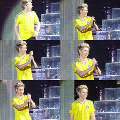 Niall, you look good in yellow (you look good in any color to be honest)