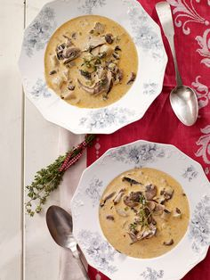 This recipe for Mushroom, Leek & Potato Soup extracts big, earthy flavors from just a handful of ingredients and can be served puréed or chunky.