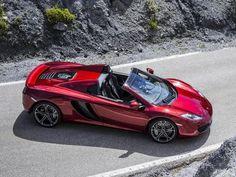 McLaren MP4-12C Spyder | Luxury cars and vehicles